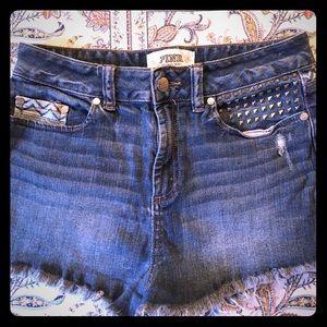 ✨Victoria's Secret Pink✨ Jean shorts!